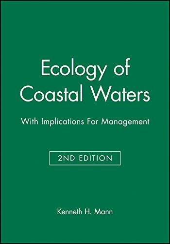 9780865425507: Ecology of Coastal Waters: With Implications For Management