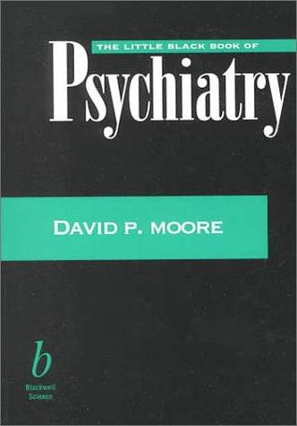 9780865425620: The Little Black Book of Psychiatry (Little Black Books)