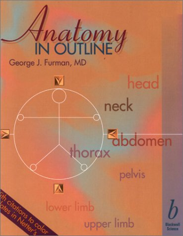 9780865425927: Anatomy in Outline
