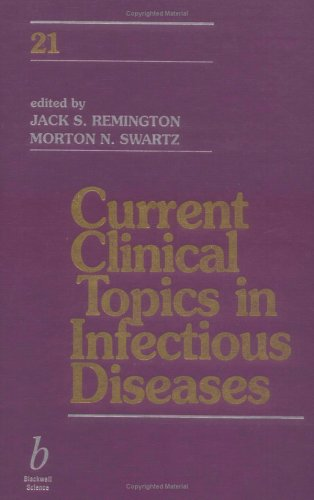 9780865425934: Current Clinical Topics in Infectious Diseases: v. 21