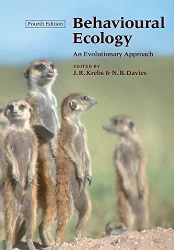 9780865427310: Behavioural Ecology: An Evolutionary Approach