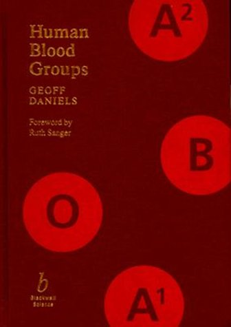9780865429147: Human Blood Groups