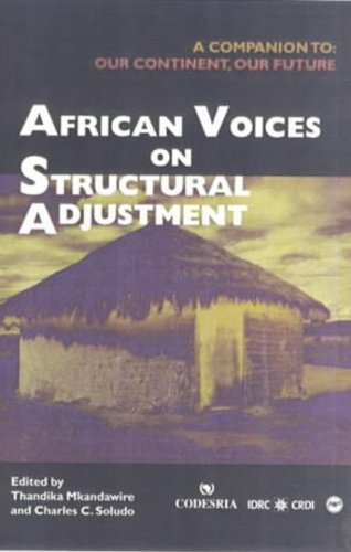 9780865437784: African Voices on Structural Adjustment