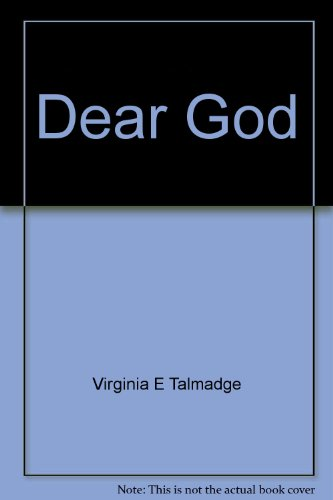 Dear God--little prayers to a big God