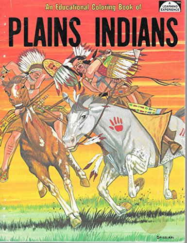 9780865450257: An Educational Coloring Book of Plains Indians ...