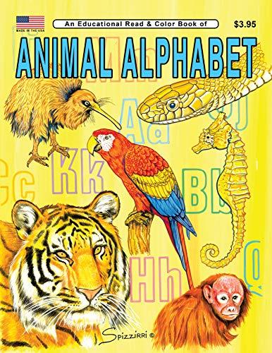 9780865450424: Animal Alphabet: An Educational Coloring Book