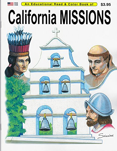 9780865450622: California Missions: An Educational Coloring Book