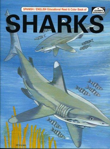 9780865451896: Sharks (Educational Read & Color Bilingual Book)