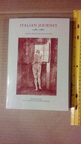 9780865470767: Italian Journey (1786-1788)
