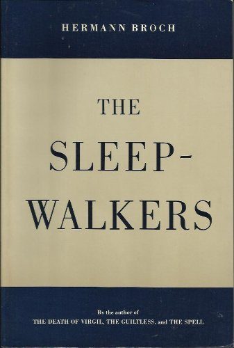 9780865472006: The Sleepwalkers (English and German Edition)