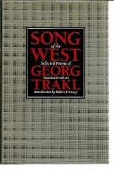 Song of the West: Selected Poems (English, German and German Edition): Georg Trakl