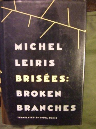 9780865473751: Brisees: Broken Branches