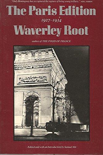 9780865473881: The Paris Edition, 1927-1934
