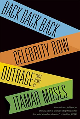 9780865479050: Back Back Back; Celebrity Row; Outrage: Three Plays