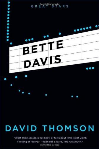 9780865479319: Bette Davis (Great Stars)