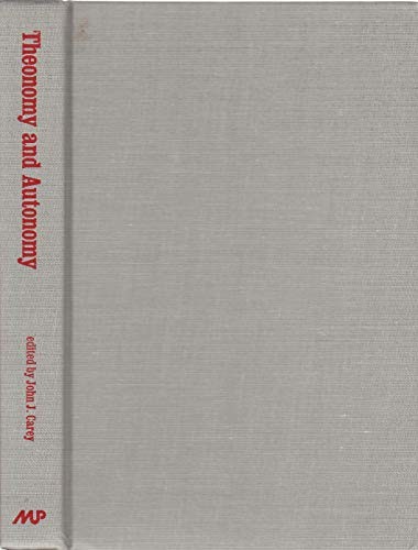 9780865541054: Theonomy and Autonomy: Studies in Paul Tillich's Engagement With Modern Culture