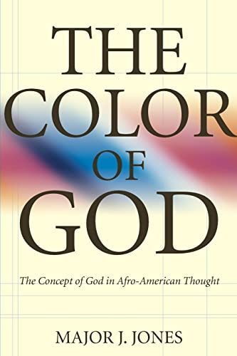 9780865542761: The Color Of God: The Concept of God in Afro-American Thought
