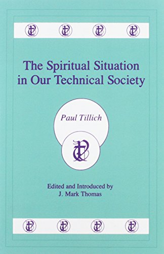 9780865542938: The Spiritual Situation in Our Technical Society