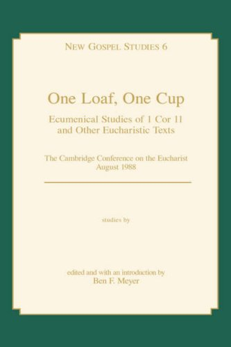 9780865543980: ONE LOAF, ONE CUP (New Gospel st)