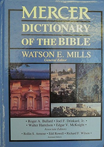 9780865544024: Mercer Dictionary of the Bible