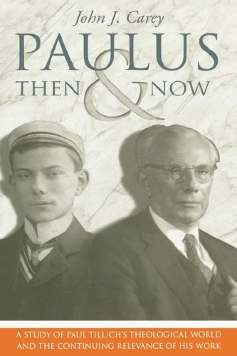 9780865546813: Paulus Then and Now: A Study of Paul Tillich's Theological World