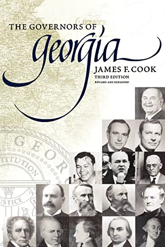 9780865549548: The Governors of Georgia: Third Edition 1754-2004