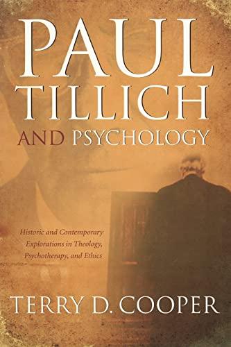 9780865549937: PAUL TILLICH AND PSYCHOLOGY (Mercer Tillich)