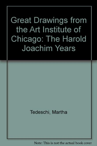 9780865590656: Great Drawings from the Art Institute of Chicago: The Harold Joachim Years