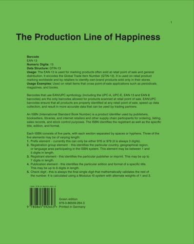 9780865592643: The Production Line of Happiness 2015