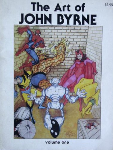 9780865620001: The Art of John Byrne; or, Out of My Head (Volume 1)