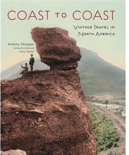 9780865652590: Coast to Coast: Vintage Travel in North America