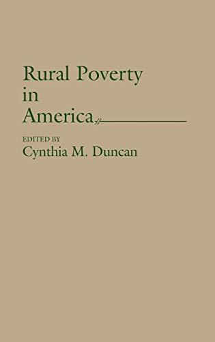 9780865690134: Rural Poverty in America: