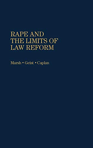 9780865690837: Rape and the Limits of Law Reform: