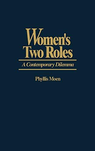 9780865691988: Women's Two Roles: A Contemporary Dilemma (Studies; 60)