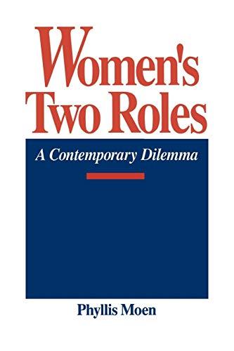 9780865691995: Women's Two Roles: A Contemporary Dilemma (Studies; 60)