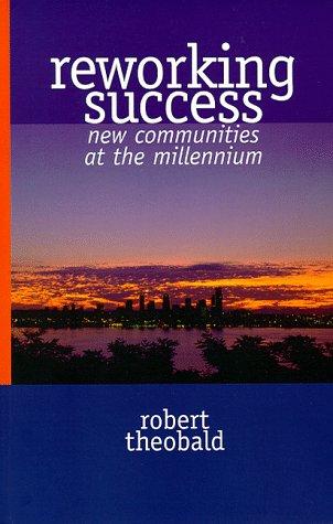 9780865713673: Reworking Success: New Communities at the Millenium