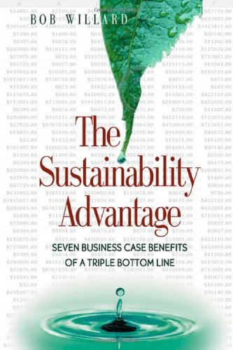 9780865714519: The Sustainability Advantage: Seven Business Case Benefits of a Triple Bottom Line (Conscientious Commerce)