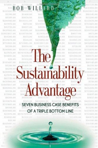9780865714519: The Sustainability Advantage: Seven Business Case Benefits of a Triple Bottom Line (Conscientious Commerce)