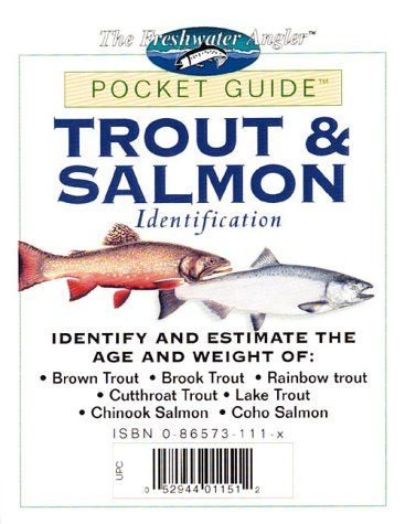 Trout & Salmon Identification Pocket Guide (Freshwater
