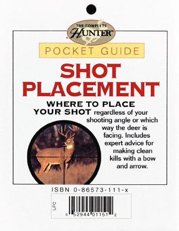 9780865734807: Shot Placement (Hunter's Pocket Guides)