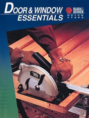 9780865736481: Door & Window Essentials (Black & Deckers)