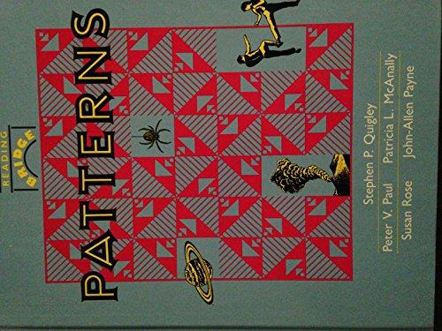 9780865756540: Patterns (Reading bridge)