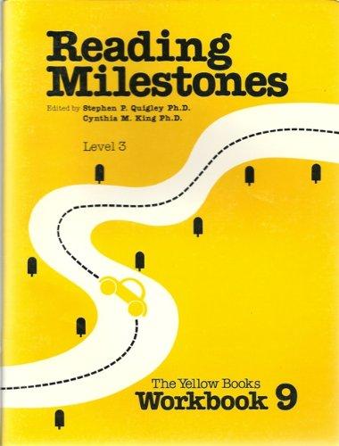 9780865757653: Level 3 Yellow Workbook 9 (Reading Milestones)