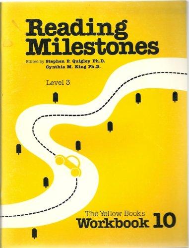 9780865757660: Level 3 Yellow Workbook 10 (Reading Milestones)