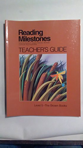 9780865758148: Teacher's Guide Level 5 The Brown Books (Reading Milestones)