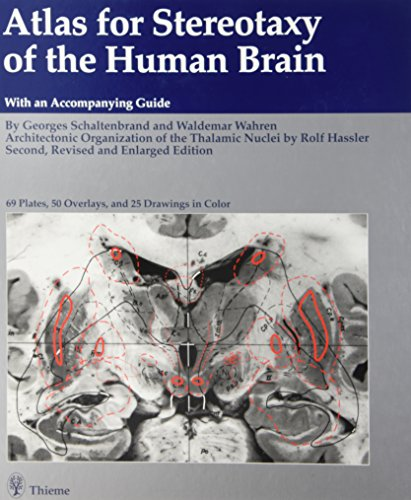 9780865770553: Atlas for Stereotaxy of the Human Brain: Anatomical, Physiological and Clinical Applications