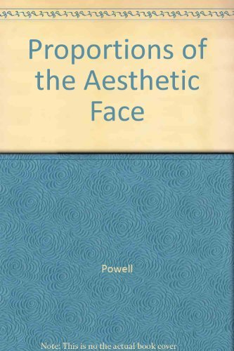 9780865771178: Proportions of the Aesthetic Face (The American Academy of Facial Plastic and Reconstructive Surgery)