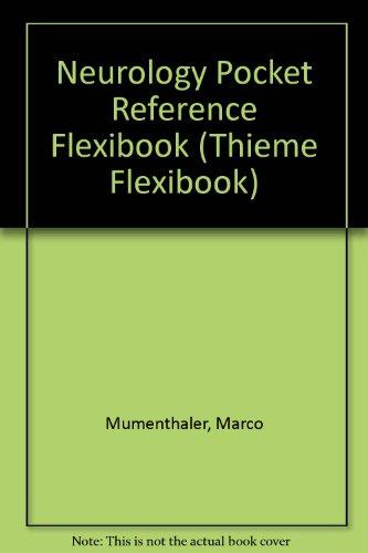 9780865773172: Neurology Pocket Reference Flexibook