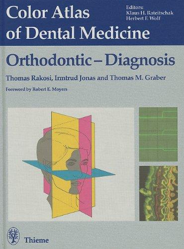 9780865774506: Orthodontic Diagnosis (Color Atlas of Dental Medicine)