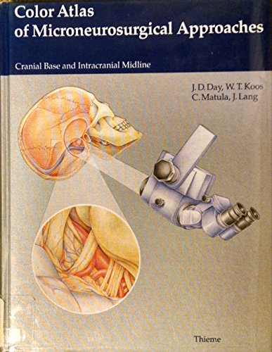 9780865776302: Color Atlas of Microsurgical Anatomy: Approaches to the Cranial Base and Intracranial Midline